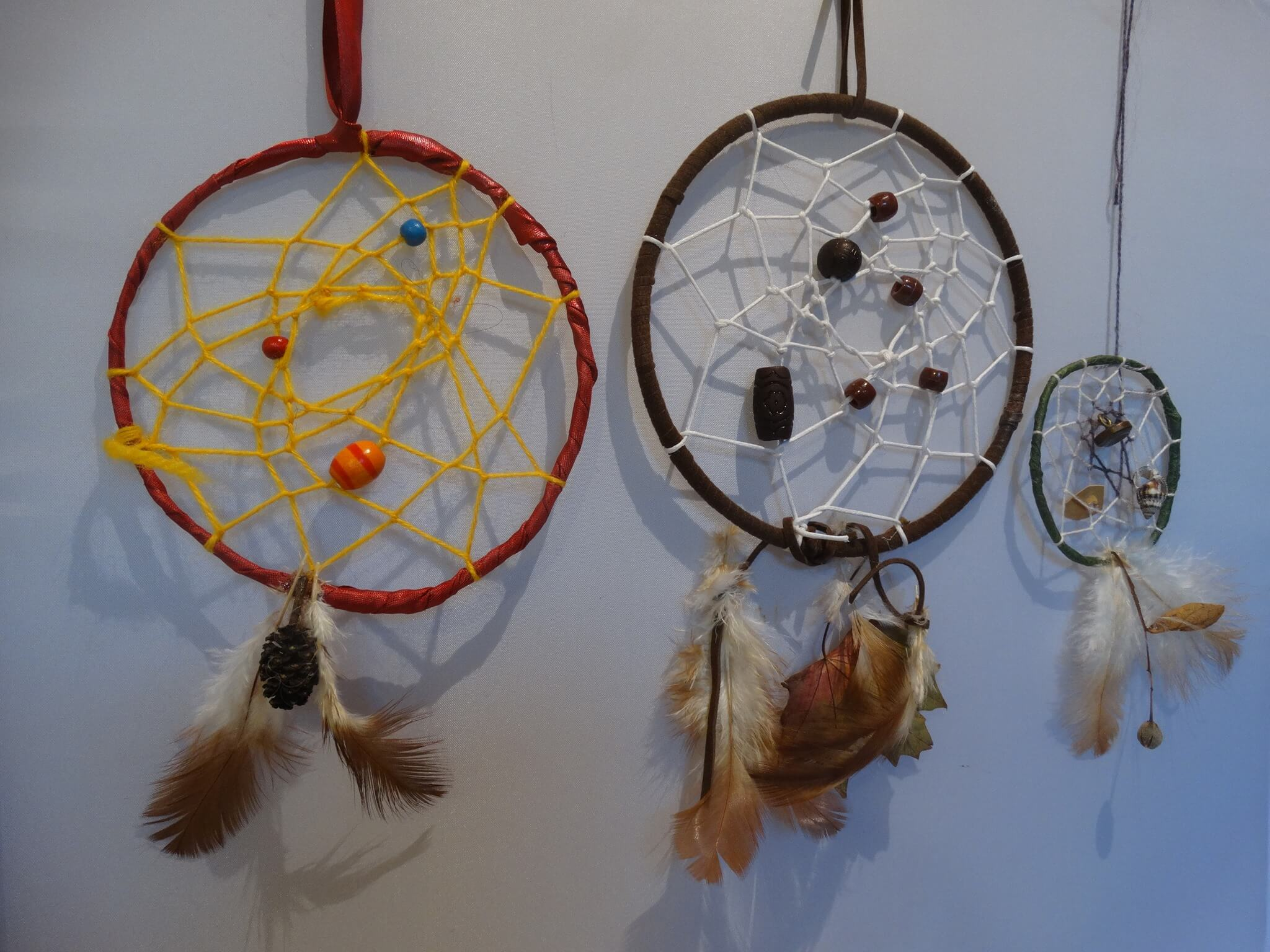 Make your own dream catcher!