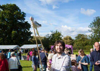 Bootleg Puppets at Fiesta, Abbey Fields, 17.09.17