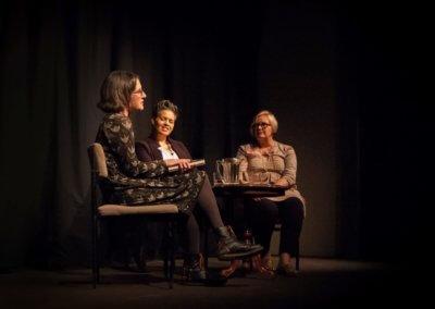 Sarah Moss, Kit de Waal and Alex Clark in conversation, Talisman Theatre, 19.09.17