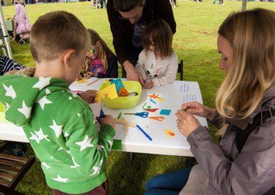 Warwick Arts Centre activities at Fiesta, Abbey Fields, 17.09.17