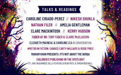 Full Literary Line-Up Confirmed