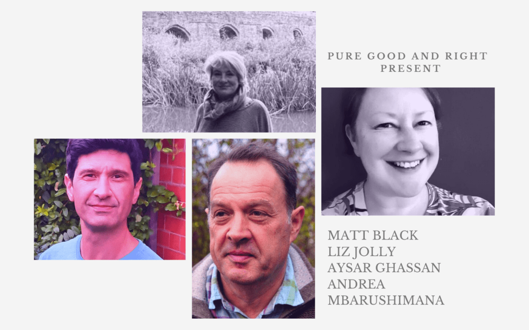 Pure Good and Right present: Matt Black, Liz Jolly, Aysar Ghassan and Andrea Mbarushimana